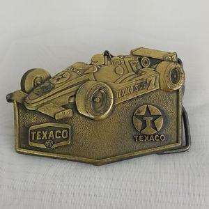 Vintage Texaco Star 7 belt buckle